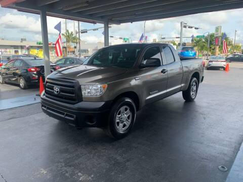 2011 Toyota Tundra for sale at American Auto Sales in Hialeah FL