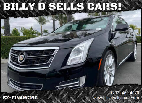 2014 Cadillac XTS for sale at BILLY D SELLS CARS! in Temecula CA
