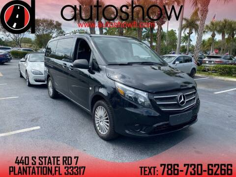 2018 Mercedes-Benz Metris for sale at AUTOSHOW SALES & SERVICE in Plantation FL