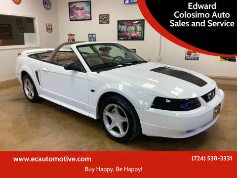 2000 Ford Mustang for sale at Edward Colosimo Auto Sales and Service in Evans City PA