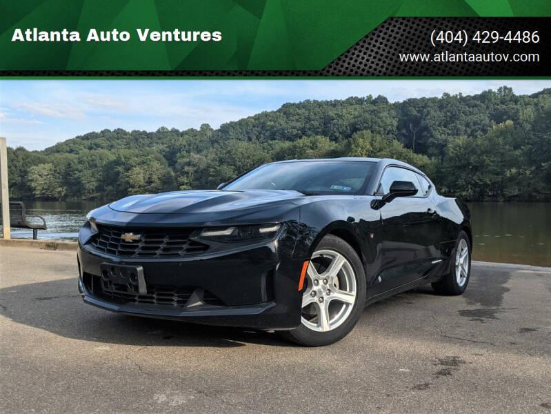 2020 Chevrolet Camaro for sale at Atlanta Auto Ventures in Roswell GA