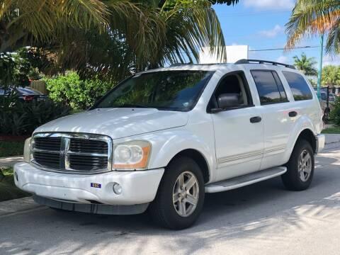2005 Dodge Durango for sale at L G AUTO SALES in Boynton Beach FL