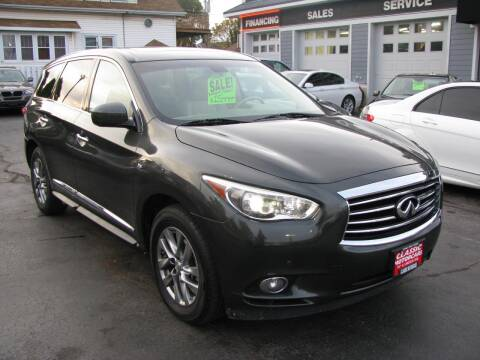 2014 Infiniti QX60 for sale at CLASSIC MOTOR CARS in West Allis WI