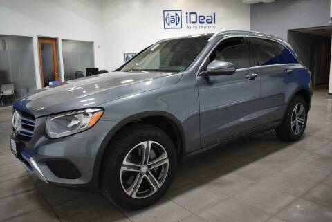 2017 Mercedes-Benz GLC for sale at iDeal Auto Imports in Eden Prairie MN