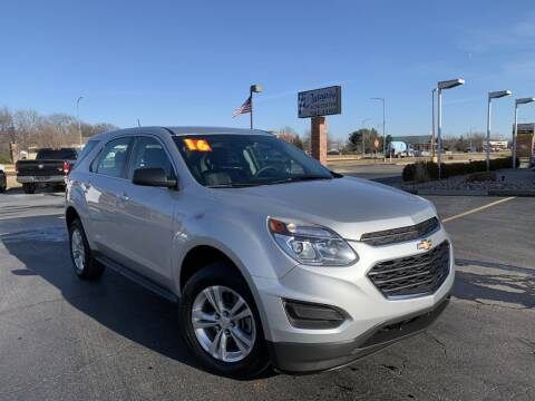 2016 Chevrolet Equinox for sale at Integrity Auto Center in Paola KS