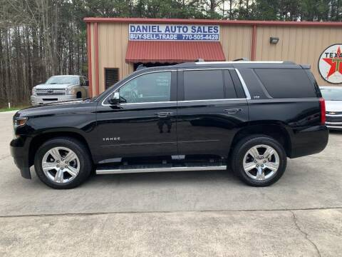 2016 Chevrolet Tahoe for sale at Daniel Used Auto Sales in Dallas GA