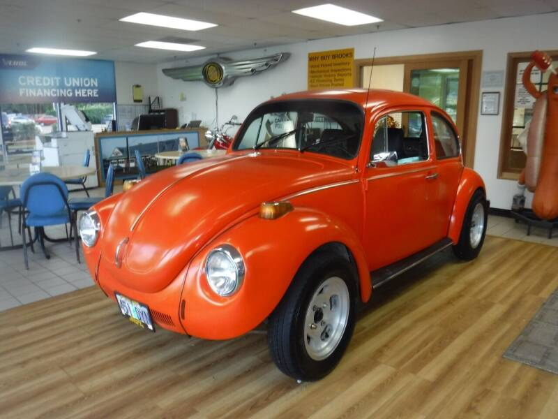 1972 Volkswagen Beetle for sale at Brooks Motor Company, Inc in Milwaukie OR