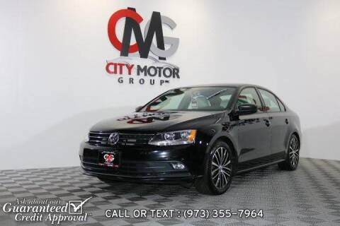 2016 Volkswagen Jetta for sale at City Motor Group, Inc. in Wanaque NJ