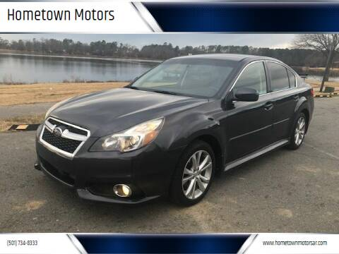 2013 Subaru Legacy for sale at Hometown Motors in Maumelle AR