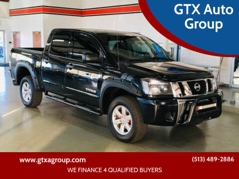 2011 Nissan Titan for sale at GTX Auto Group in West Chester OH
