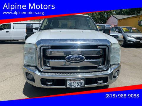2011 Ford F-250 Super Duty for sale at Alpine Motors in Van Nuys CA