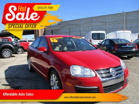 2010 Volkswagen Jetta for sale at Affordable Auto Sales in Olathe KS