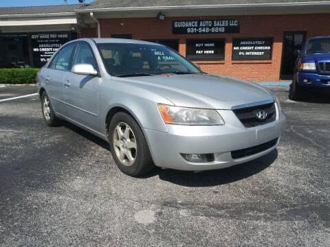 2006 Hyundai Sonata for sale at Guidance Auto Sales LLC in Columbia TN