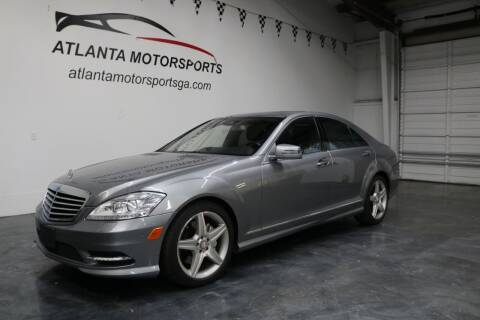 2010 Mercedes-Benz S-Class for sale at Atlanta Motorsports in Roswell GA