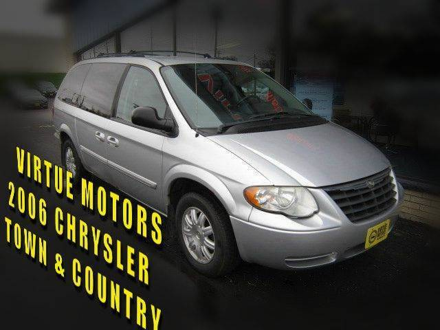 2006 Chrysler Town and Country for sale at Virtue Motors in Darlington WI