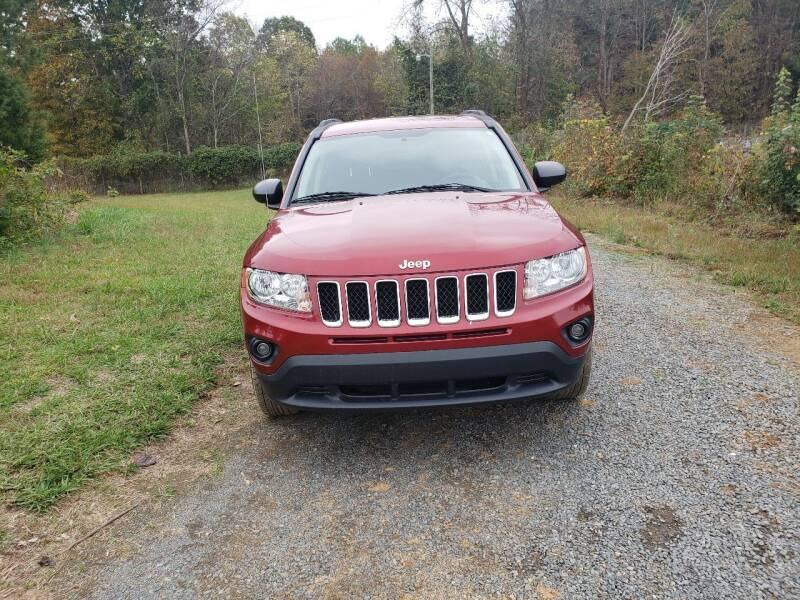2012 Jeep Compass for sale at Richards's Auto Sales & Salvage in Denton NC