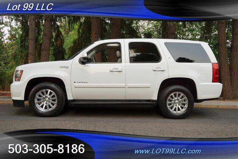 2009 Chevrolet Tahoe for sale at LOT 99 LLC in Milwaukie OR