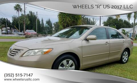 "2008 Toyota Camry for sale at WHEELS ""R"" US 2017 LLC in Hudson FL"