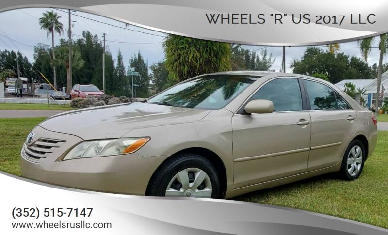 """2008 Toyota Camry for sale at WHEELS """"R"""" US 2017 LLC in Hudson FL"""