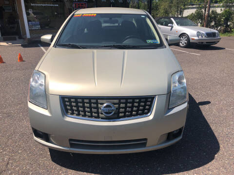 2007 Nissan Sentra for sale at Barry's Auto Sales in Pottstown PA