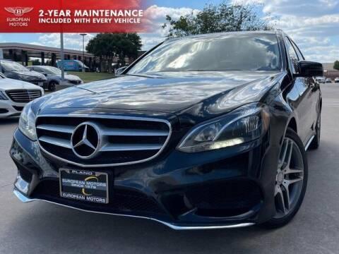 2014 Mercedes-Benz E-Class for sale at European Motors Inc in Plano TX