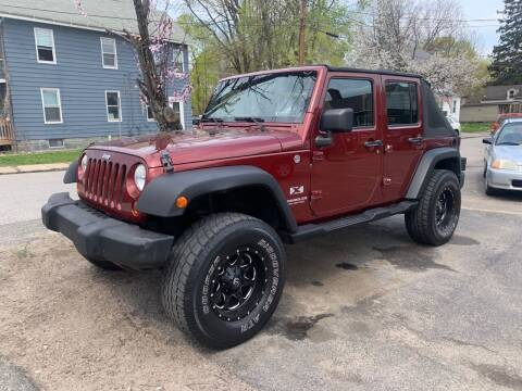 2008 Jeep Wrangler Unlimited for sale at Connecticut Auto Wholesalers in Torrington CT