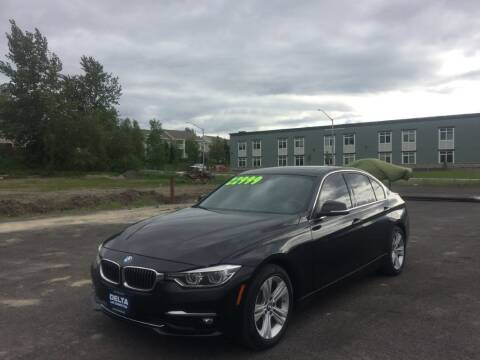 2016 BMW 3 Series for sale at Delta Car Connection LLC in Anchorage AK