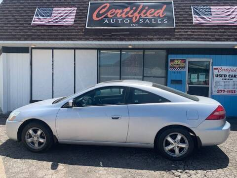 2003 Honda Accord for sale at Certified Auto Sales, Inc in Lorain OH