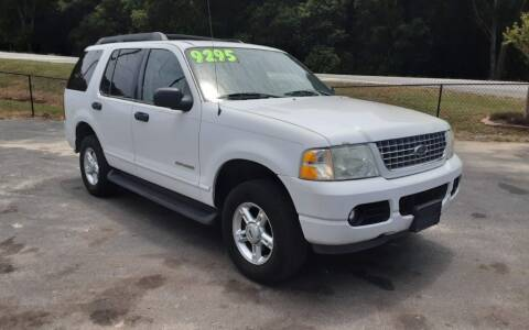 2005 Ford Explorer for sale at Mathews Used Cars, Inc. in Crawford GA