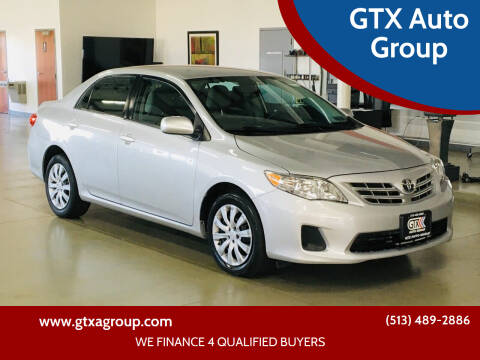 2013 Toyota Corolla for sale at GTX Auto Group in West Chester OH