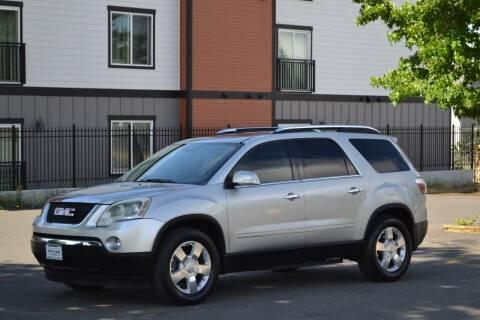 2008 GMC Acadia for sale at Skyline Motors Auto Sales in Tacoma WA