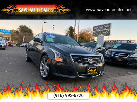 2014 Cadillac ATS for sale at Save Auto Sales in Sacramento CA