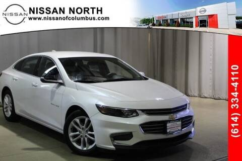 2016 Chevrolet Malibu for sale at Auto Center of Columbus in Columbus OH