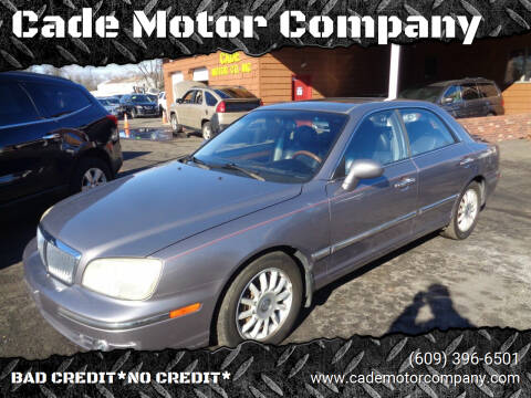 2005 Hyundai XG350 for sale at Cade Motor Company in Lawrenceville NJ