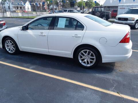 2012 Ford Fusion for sale at A-1 Auto Sales in Anderson SC