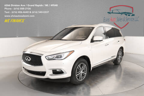 2017 Infiniti QX60 for sale at Elvis Auto Sales LLC in Grand Rapids MI