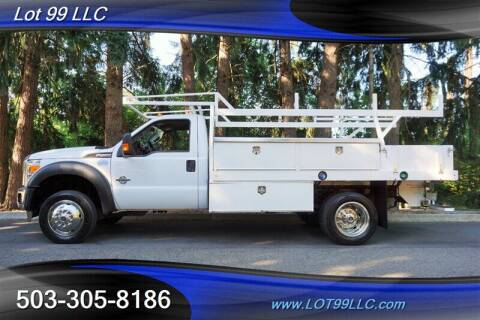 2016 Ford F-550 Super Duty for sale at LOT 99 LLC in Milwaukie OR