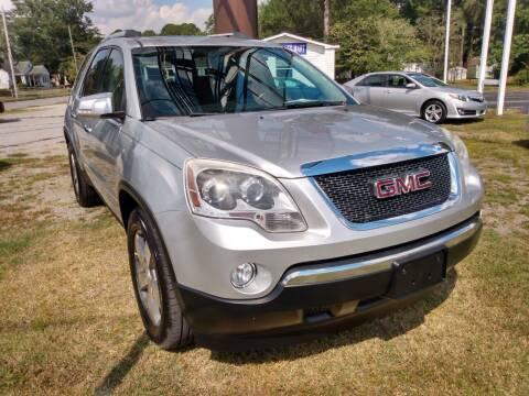 2012 GMC Acadia for sale at Kinston Auto Mart in Kinston NC