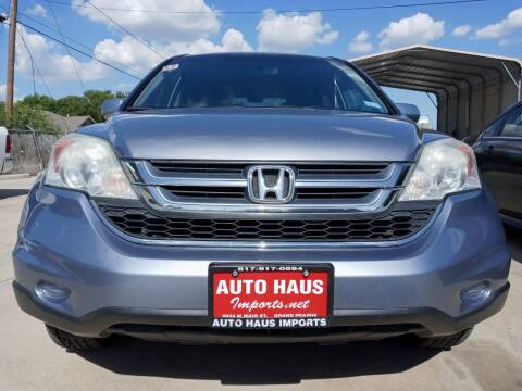 2011 Honda CR-V for sale at Auto Haus Imports in Grand Prairie TX