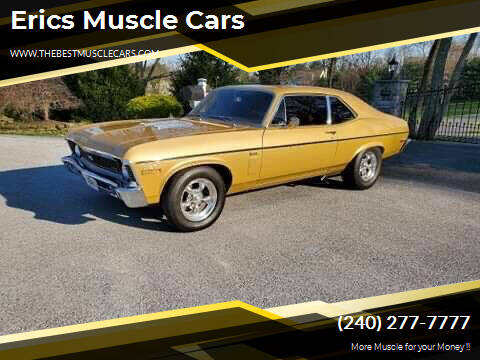 1970 Chevrolet Nova for sale at Erics Muscle Cars in Clarksburg MD