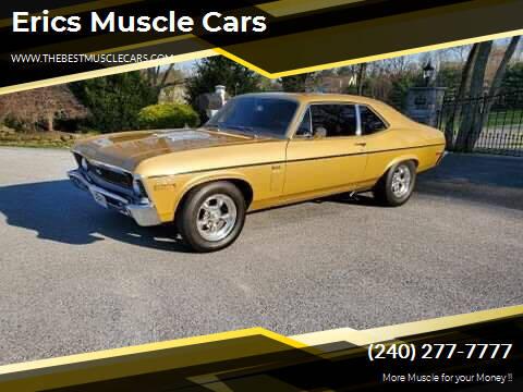 1970 Chevrolet Nova for sale at Erics Muscle Cars in Clarksburg MD