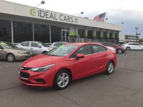 2018 Chevrolet Cruze for sale at Ideal Cars Broadway in Mesa AZ