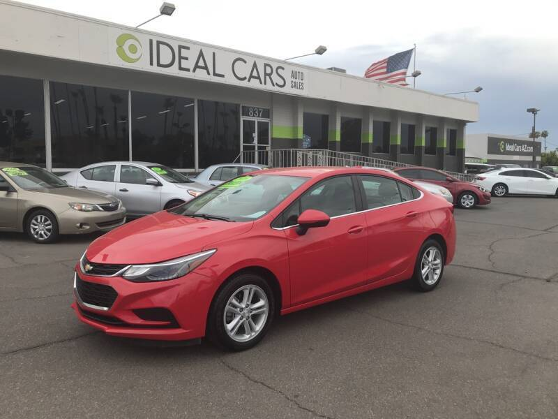 2018 Chevrolet Cruze for sale at Ideal Cars Apache Junction in Apache Junction AZ