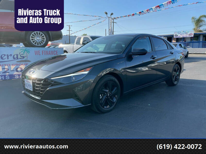 2021 Hyundai Elantra for sale at Rivieras Truck and Auto Group in Chula Vista CA