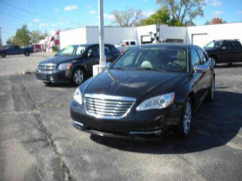 2013 Chrysler 200 for sale at Bruce Kunesh Auto Sales Inc in Defiance OH