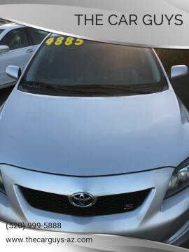 2010 Toyota Corolla for sale at The Car Guys in Tucson AZ