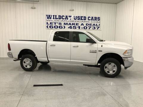 2016 RAM Ram Pickup 2500 for sale at Wildcat Used Cars in Somerset KY
