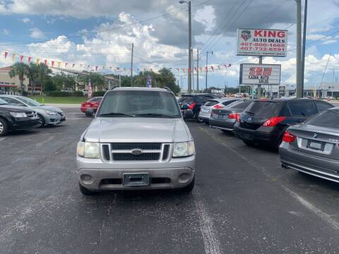 2002 Ford Explorer Sport Trac for sale at King Auto Deals in Longwood FL