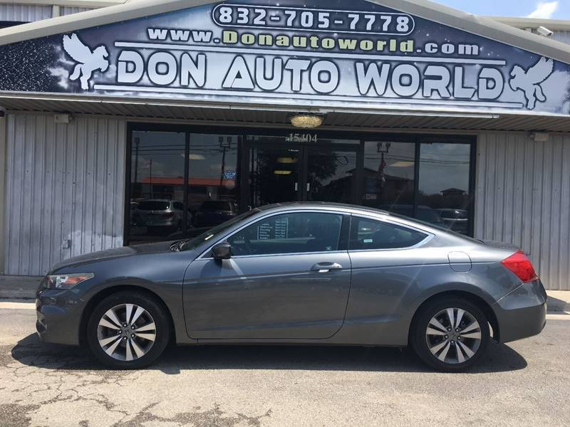 2012 Honda Accord for sale at Don Auto World in Houston TX