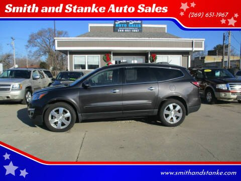 2015 Chevrolet Traverse for sale at Smith and Stanke Auto Sales in Sturgis MI